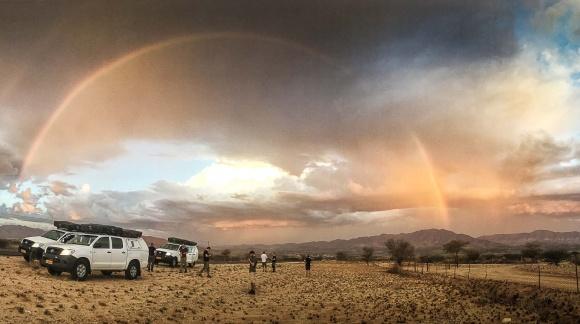Safari in Namibia cu Into The World