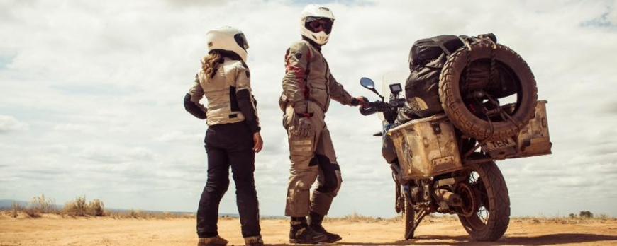 2 oameni, 1 motocicleta, 14 luni in Africa
