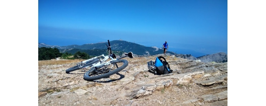 Mountain Bike in Thassos